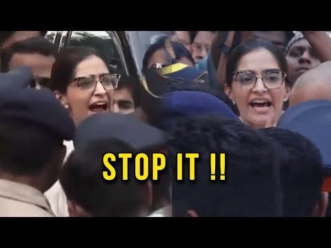 ANGRY Sonam Kapoor SHOUTS At Fans, CRIES in Anger