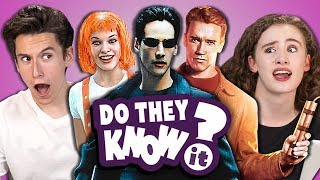 Video DO TEENS KNOW 90s ACTION MOVIES? (REACT: Do They Know It?) MP3, 3GP, MP4, WEBM, AVI, FLV Desember 2018