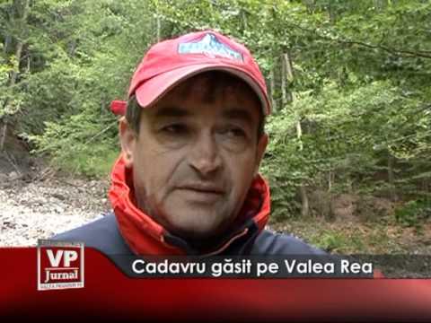 Cadavru găsit pe Valea Rea