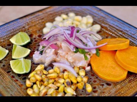 South American Recipe: How to make a Red Snapper Peruvian Ceviche Recipe – Ceviche Peruano