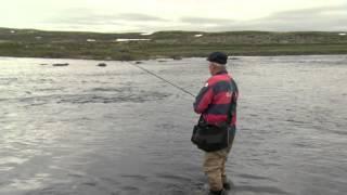 Ørretfiske på Hardangervidda
