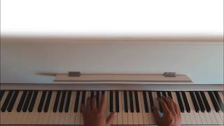 Turning Out -AJR- Piano Tutorial