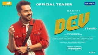 Dev - Tamil movie songs lyrics