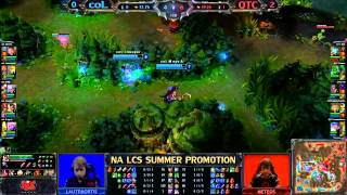 Alpha et Sansu LCS NA - coL vs Quantic - Game 3