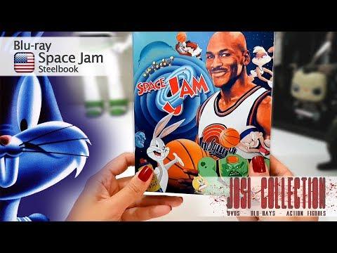 [Unboxing] Blu-ray Space Jam - Steelbook
