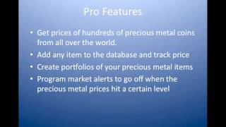 Gold and Silver Price YouTube video