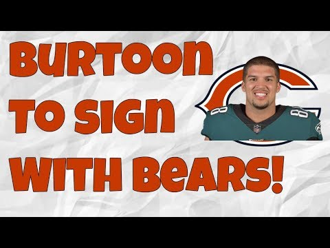 The Bears Sign Trey Burton! Can the Bears compete with the rest of the NFC North?