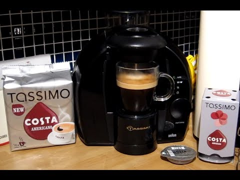 Costa at Home - Americano Coffee - Tassimo T-Disc brewed in my Braun coffee machine
