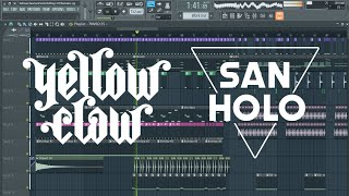 Video Yellow Claw & San Holo - Old Days [Remake + Free FLP] MP3, 3GP, MP4, WEBM, AVI, FLV Mei 2018