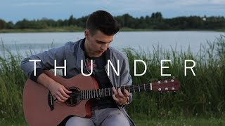 Video Thunder - Imagine Dragons (Fingerstyle Guitar Cover by Vadim Kobal) MP3, 3GP, MP4, WEBM, AVI, FLV Januari 2018