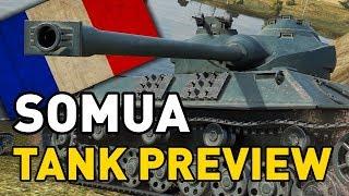 Video World of Tanks || Somua SM - Tank Preview MP3, 3GP, MP4, WEBM, AVI, FLV Juni 2018