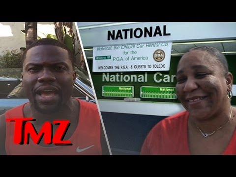 Bus - Kevin Hart pleas with National Car Rental to not fire the bus driver that left her bus unattended at LAX to get a selfie with him.