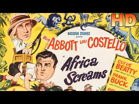 Africa Screams HD (In Color and Restored) - 1949 - Bud Abbott, Lou Costello (Comedy)