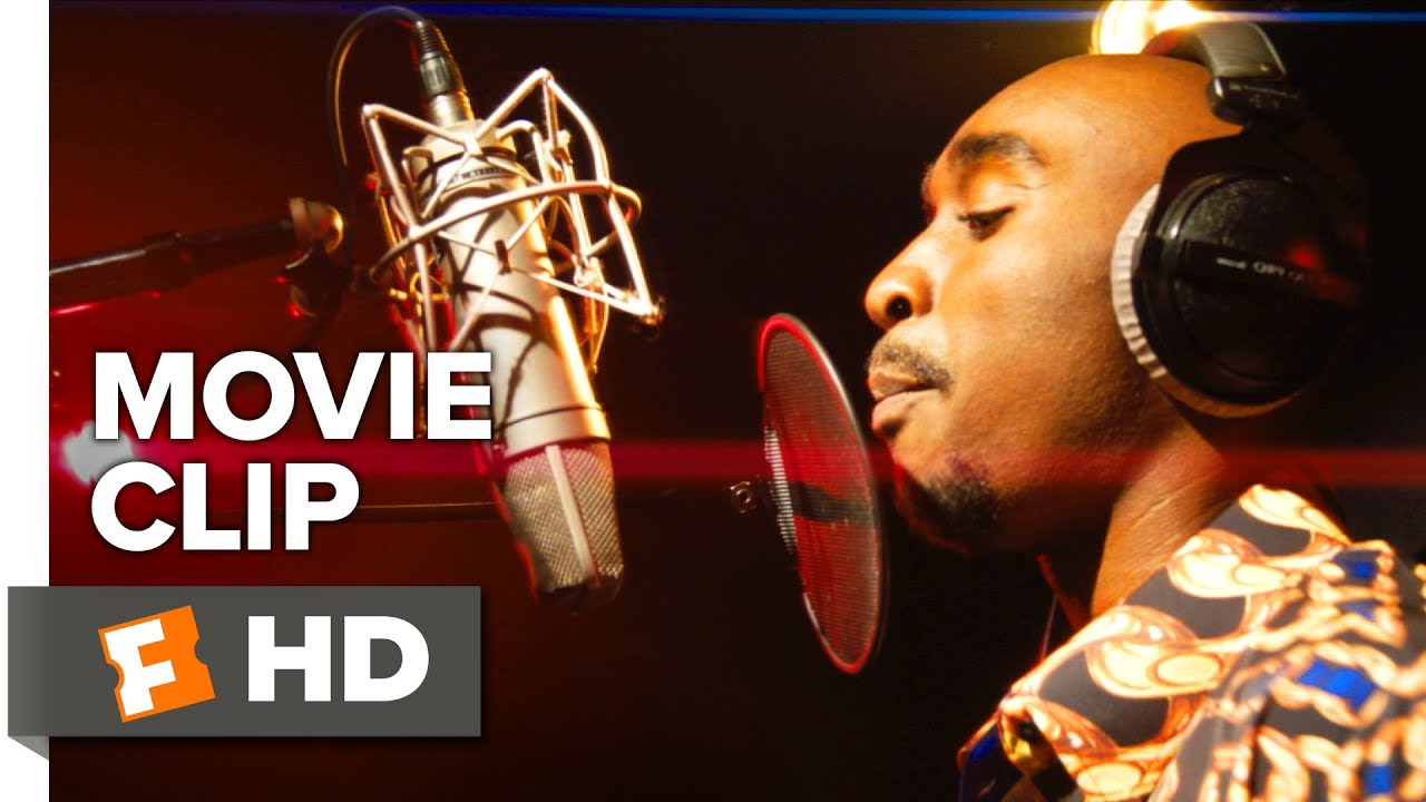Watch the Voice behind the Music, The Truth behind the Headlines, The Man behind the Legend in 'All Eyez on Me' (Clip) Tupac Shakur Biopic