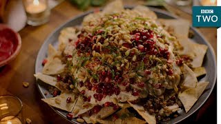 Video Beef and Aubergine Fatteh - Nigella: At My Table   Episode 2 - BBC Two MP3, 3GP, MP4, WEBM, AVI, FLV Agustus 2019