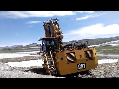 CATERPILLAR PALA PARA MINERÍA / EXCAVADORA 6018 equipment video 1Gv2kl3wl28