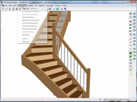 How to build a stair with Stairdesigner