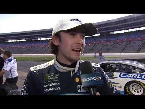 Ryan Blaney wins Busch Pole Award at Texas
