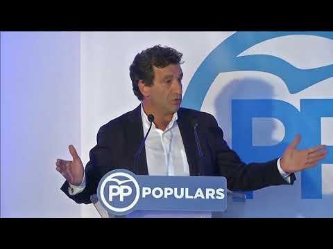 Intervención del presidente del PP Balears,Biel Company, en la visita de Pablo Casado a Menorca