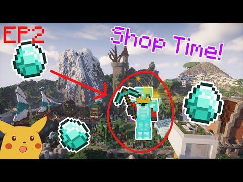 Shoping Time?   Minecraft   Wildercraft S8   EP 2
