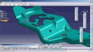 CATIA V5 - Complex part reference creation