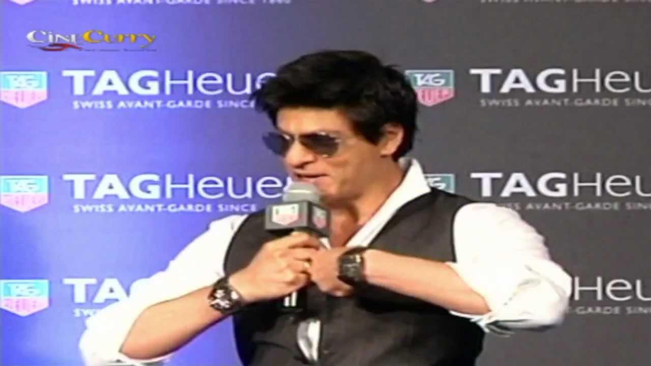 Shahrukh Khan Launches TAG Heuer Carrera