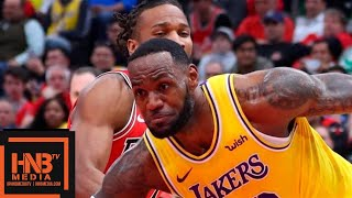 Los Angeles Lakers vs Chicago Bulls Full Game Highlights | March 12, 2018-19 NBA Season