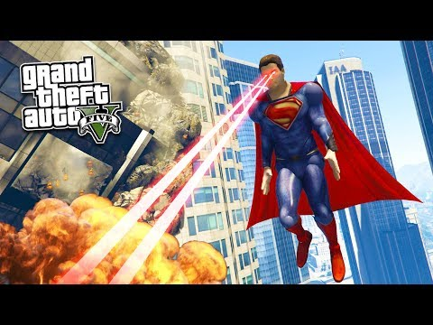 How To Download Superman Mod For GTA 5 With Installation And Gameplay 2018