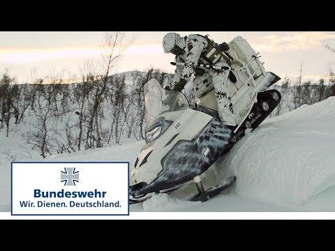 Durch die eisige Hölle – Soldaten der Bundeswehr bei Eiskristall in Norwegen
