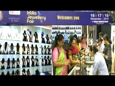 India Jewellery Fair Exhibition & Sale on 16th to 18th Nov at Vizag Convention in Visakhapatnam