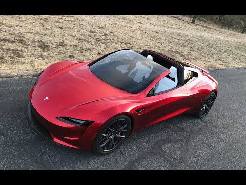Tesla Roadster 2020! 0-60 mph in 1.9 second! Top speed 250+ mph!!!