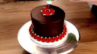 Ganache Cake Enrobed