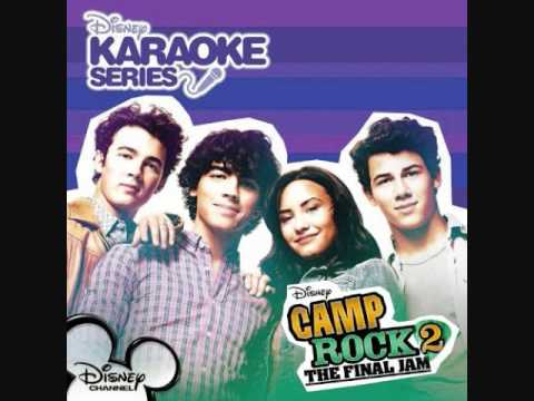 Camp Rock 2- Wouldn't Change A Thing (Karaoke/Instrumental)