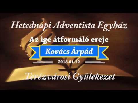 Az ige átformáló ereje    Kovács Árpád   2018.01.12