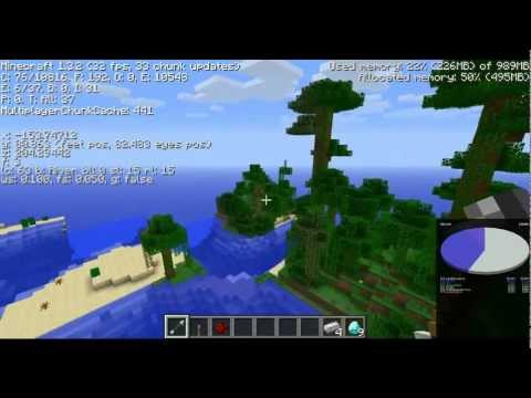 Minecraft Epic Seeds - 10 Diamonds 3 Emeralds At Spawn, Npc Village, Jungle Temple, Desert Temple