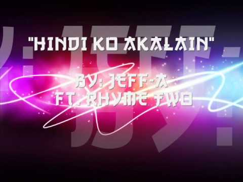 Jeff Records - HINDI KO AKALAIN - Jeff-A Ft. Rhyme Two - RPN RECORDS.