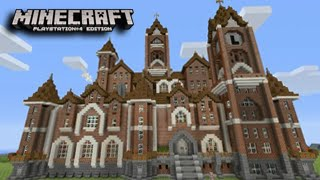 Minecraft Playstation - Massive Mansion! Best Builds (Minecraft PS4, PS3)