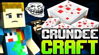 Minecraft: THE BIRTHDAY TROLL | CRUNDEE CRAFT