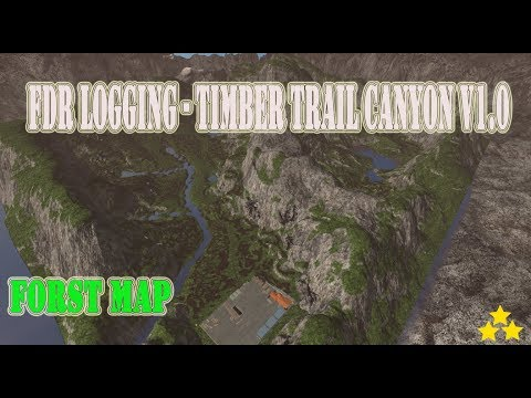 FDR Logging - Timber Trail Canyon v1.0