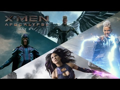 WATCH: New 'X-Men: Apocalypse' Trailer Is Action Packed