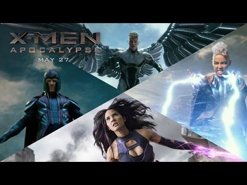 A New XMen Apocalypse Promo Trailer Reveals Details About the Evil Four Horsemen