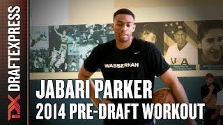 Jabari Parker 2014 Draft Workout For NBA Scouts