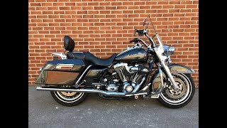 7. 2008 Harley Davidson FLHR Road King. 33369 miles. In excellent condition. For sale.