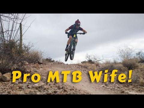 How to Turn Your Wife into a Mountain Biker (видео)