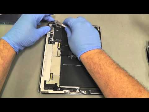 replacement - www.iCracked.com - iCracked, the world's best iPhone, iPod, and iPad repair company, shows you how to repair your iPad 2 with their Official iPad 2 Screen/Di...