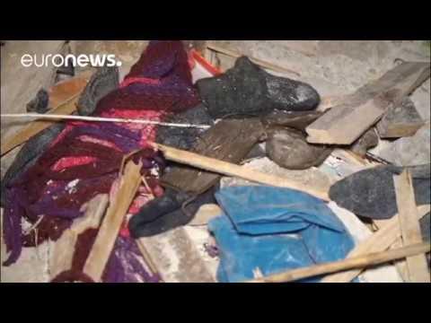 Εφιάλτης από τα ρίχτερ στη Λέσβο- Αποστολή του euronews