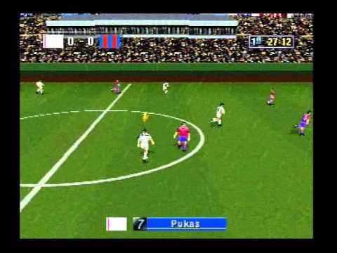 Sega Worldwide Soccer '98 Saturn