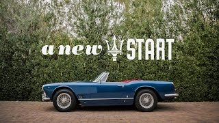 This 1960 Maserati 3500 GT Spyder Vignale Is A New Start