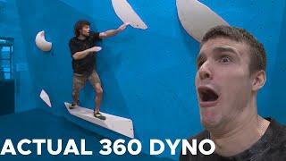 BLOCKFEST Finals boulders    360 Dyno    BoulderingBobat by Bouldering Bobat