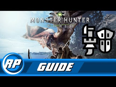 Monster Hunter World - Gun Lance Progression Guide (Recommended Playing)